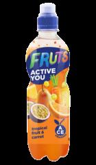 Dzēriens Fruts burkānu-tropisko augļu, 0.5