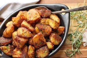 Vārīti cepti kartupeļi