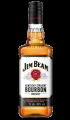 Виски Джим Бим 40% 1л